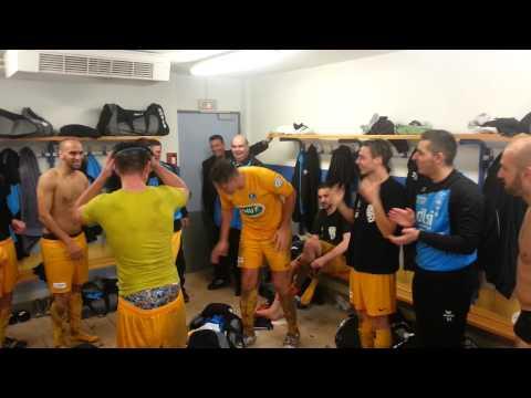 Moment de joie après la victoire du SFC à Bar le Duc