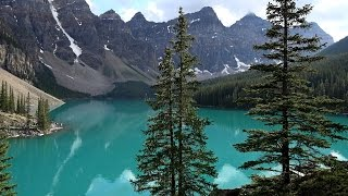 Lake Louise (AB) Canada  City new picture : Lake Louise & Moraine Lake, Banff NP, Canada in 4K (Ultra HD)