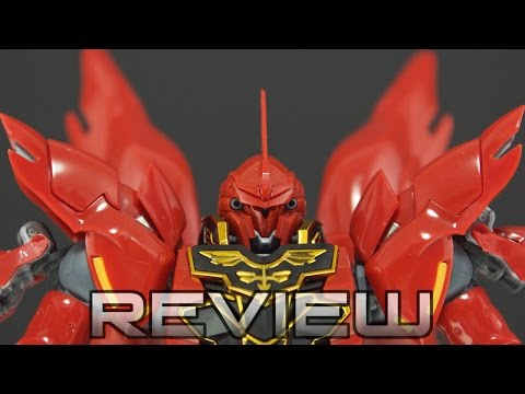 1/144 Real Grade (rg) Sinanju Review - Gundam Unicorn - シナンジュ