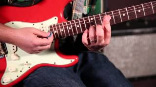 "How to Play ""Let's Dance"" by David Bowie on Guitar - Rhythm Guitar Lessons"
