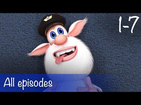 Booba - All Episodes Compilation (1-7) + Bonus - Cartoon for kids
