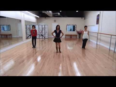 Blurred Lines Line Dance (Dance & Teach)