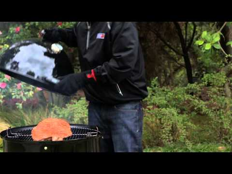 Setting Up a Two-Zone Charcoal Fire