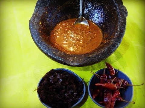 SALSA DE CHICATANAS /como preparar