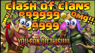 Watch me play Clash of Clans!