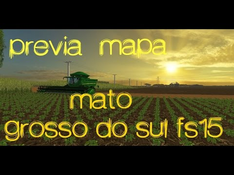 MATO GROSSO DO SUL MAP v1.0