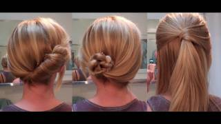 Easy Hairstyles For A Date / Work - Hairstyles For Long Hair / Hairstyles For Medium Hair