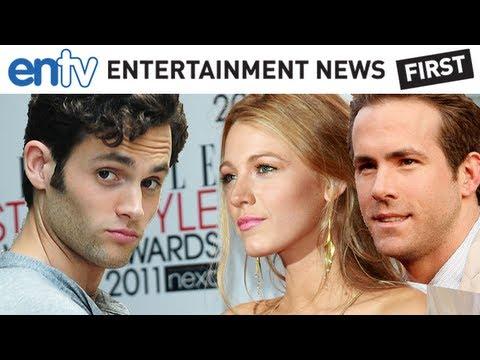 Blake Lively Ex-Penn Badgley Reacts To Ryan Reynolds Marriage: ENTV