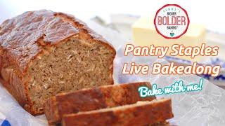 Use Pantry Staples to make my Best-Ever Banana Bread recipe   Bakealong by Gemma's Bigger Bolder Baking