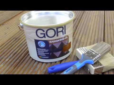 GORI 37 EXTREME DECKING Olio all'acqua per pavimento in legno esterno