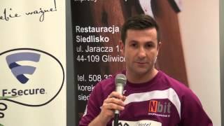 Konferencja po meczu Nbit Gliwice – UKS Ekom Futsal Nowiny