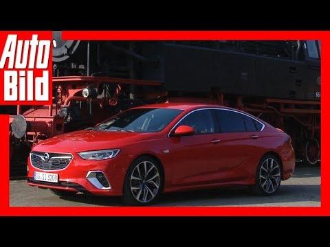 Opel Insignia GSi (2018) Erste Fahrt - Details/Erkl ...