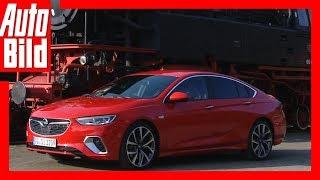 Opel Insignia GSi (2018) Erste Fahrt - Details/Erklärung/Fahrbericht by Auto Bild