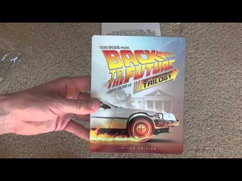 Back To The Future 30th Anniversary Trilogy Blu-Ray Unboxing