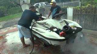2. Rebuilding the engine of a Yamaha WaveRunner