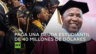Un multimillonario paga la deuda estudiantil de casi 400 graduados