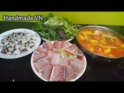 LẨU CÁ - Cách nấu nước lẩu thái ăn lẩu cá rất ngon - Thời lượng: 11 phút.