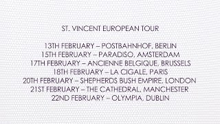 Nonton St. Vincent 2014 European Tour Film Subtitle Indonesia Streaming Movie Download