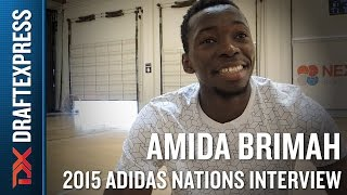 Amida Brimah 2015 Adidas Nations Interview