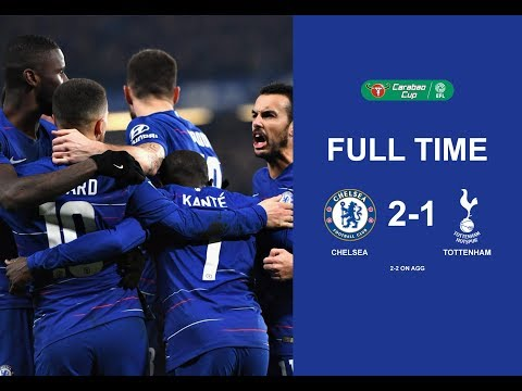 Chelsea Vs Tottenham (2-1) Full Time 2nd (Full Match) 25/01/2019
