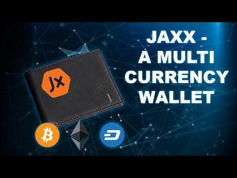 Using Jaxx Wallet - Bitcoin, Ethereum, Dash and More (видео)