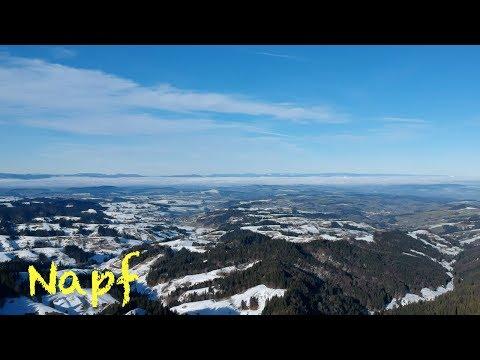 Dronie fliegt am Napf - Emmentaler Alpen - Schweiz