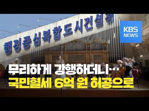 유명 이탈리아 음악원 유치하겠다더니…6억 원만 날려 / KBS뉴스(News)