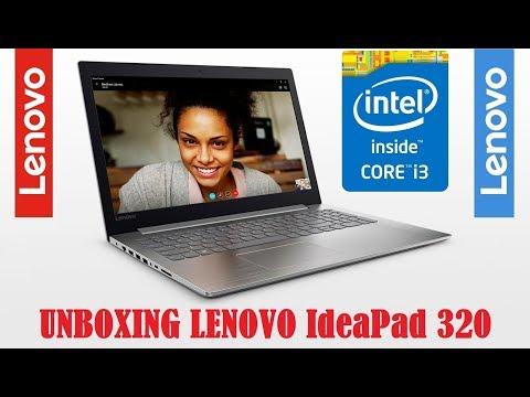 🔴 Laptop Lenovo IdeaPad 320 - Unboxing & Primeiras impressões do Notebook