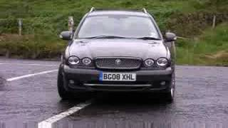 Test Drive Of The Jaguar X-Type