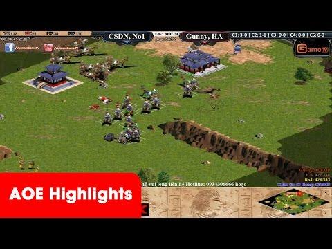 AOE HighLights -  Pha bật time quá hay của No1, Chim Sẻ khi bị Gunny, Hồng Anh đè 7 3