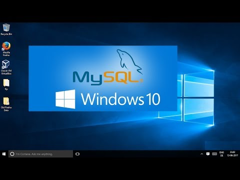 How To Install MySQL on Windows 10