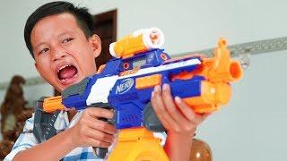 Video NERF GUN SPICY NOODLES BATTLE GUN MP3, 3GP, MP4, WEBM, AVI, FLV Juni 2019