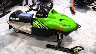 10. 2016 Arctic Cat ZR 120 Mini Sled - Walkaround - 2015 St Hyacinthe ATV Show
