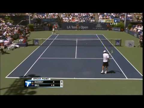 Final de Loa Angeles, Sam Querrey vs Carsten Ball