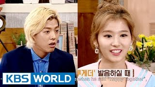 "Video Sana, ""Kangnam's Happy Together accent is a Korean accent"" [Happy Together/2016.07.21] MP3, 3GP, MP4, WEBM, AVI, FLV Januari 2019"