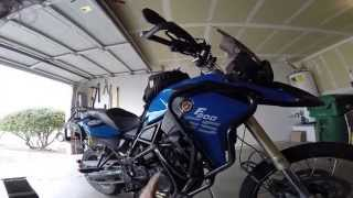 9. BMW F800GS 20,000 Mile ADV equipment review