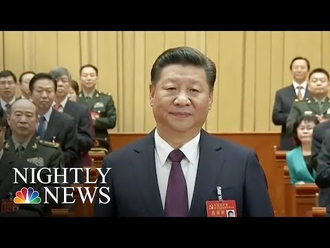 "Chinese President Xi Jinping Declares Era of ""National Rejuvenation"" 