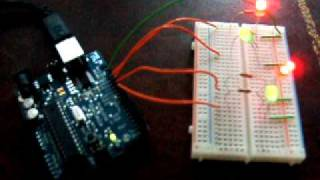 Download Lagu Arduino - multiple LEDs blinking at different rates Mp3