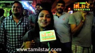 Ajith Fans Celebrate Yennai Arindhaal at Kasi Theatre