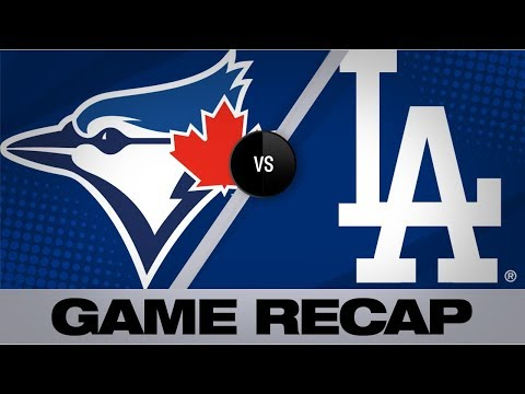 Video: Dodgers hammer 5 homers to defeat Blue Jays | Blue Jays-Dodgers Game Highlights 8/20/19