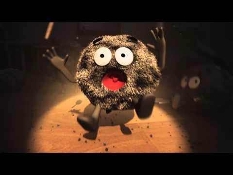 Ночной кошмар - робот-пылесос HOM-BOT square (видео)