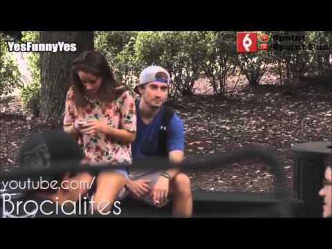 Kız Erkeklerin Kucağına Oturuyor Altyazılı Sosyal Deney