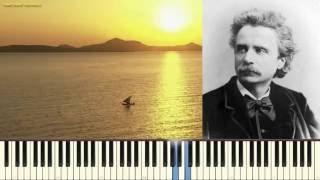 Песня Сольвейг - Э. Григ (Solvejg's Song_Op.52 No.4 _Grieg)(Пример игры на пианино) (piano cover)