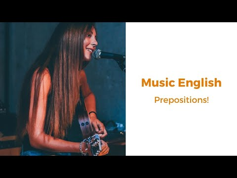 Music English - Prepositions! (Sting, Billy Joel & David Bowie)