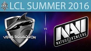 Vega vs NaVi.CIS, game 1