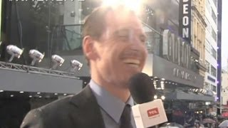 Michael Fassbender on his BROMANCE with James McAvoy full download video download mp3 download music download