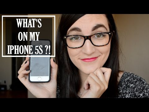 What's On My iPhone 5s?! // Favorite Apps & More!   Erica Nicole