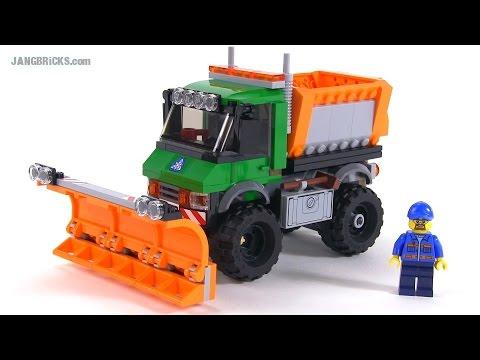 """Конструктор Lego City 60083 """"Снегоуборочный грузовик"""""""