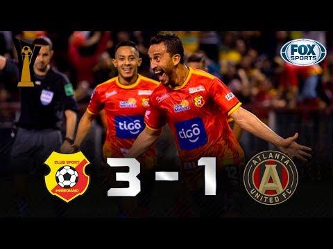 Herediano - Atlanta United [3-1] | GOLES | Octavos...