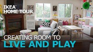 Kid-Friendly Living Room Ideas - IKEA Home Tour (Episode 307)